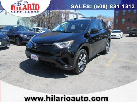 2018 Toyota RAV4 for sale at Hilario's Auto Sales in Worcester MA