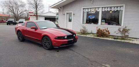 2010 Ford Mustang for sale at Cars 4 U in Liberty Township OH