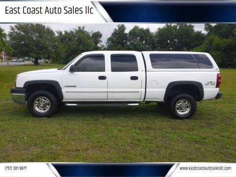 2003 Chevrolet Silverado 2500HD for sale at East Coast Auto Sales llc in Virginia Beach VA