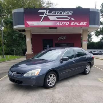 2003 Honda Accord for sale at Fletcher Auto Sales in Augusta GA