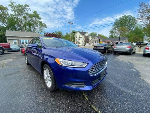 2013 Ford Fusion for sale at Automazed in Attleboro MA