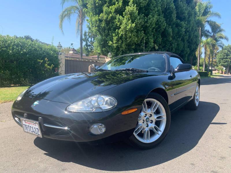 2002 Jaguar XK-Series for sale at Valley Coach Co Sales & Lsng in Van Nuys CA