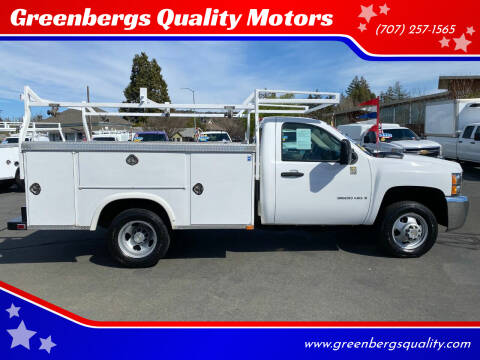 2008 Chevrolet Silverado 3500HD CC for sale at Greenbergs Quality Motors in Napa CA