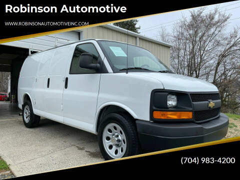 2013 Chevrolet Express Cargo for sale at Robinson Automotive in Albemarle NC