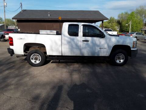 2010 Chevrolet Silverado 2500HD for sale at Riverview Auto's, LLC in Manchester OH