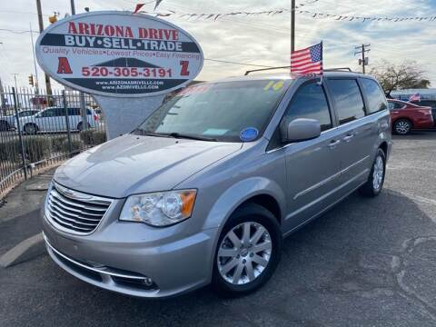 2014 Chrysler Town and Country for sale at Arizona Drive LLC in Tucson AZ