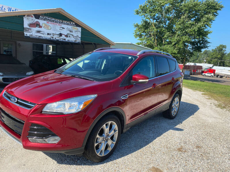 2014 Ford Escape for sale at J2 WHEELS UNLIMITED in Griggsville IL