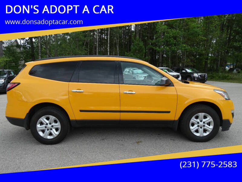 2014 Chevrolet Traverse for sale at DON'S ADOPT A CAR in Cadillac MI