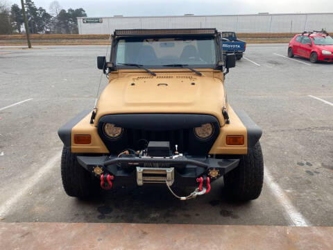 1997 Jeep Wrangler for sale at S & H AUTO LLC in Granite Falls NC