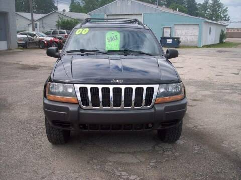 2000 Jeep Grand Cherokee for sale at Shaw Motor Sales in Kalkaska MI