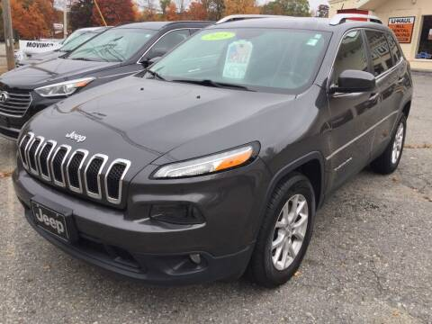 2015 Jeep Cherokee for sale at Motuzas Automotive Inc. in Upton MA
