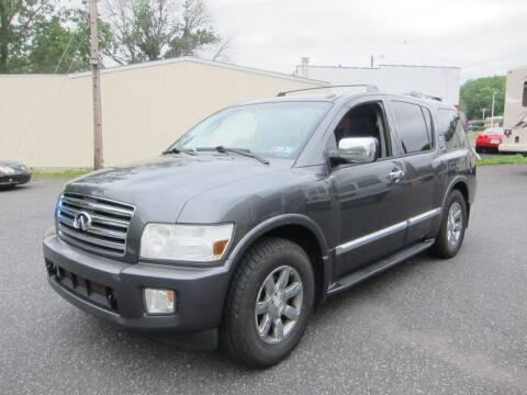 2007 Infiniti QX56 for sale at K & R Auto Sales,Inc in Quakertown PA