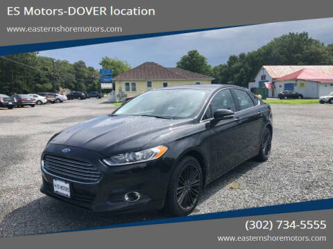2013 Ford Fusion for sale at ES Motors-DAGSBORO location - Dover in Dover DE