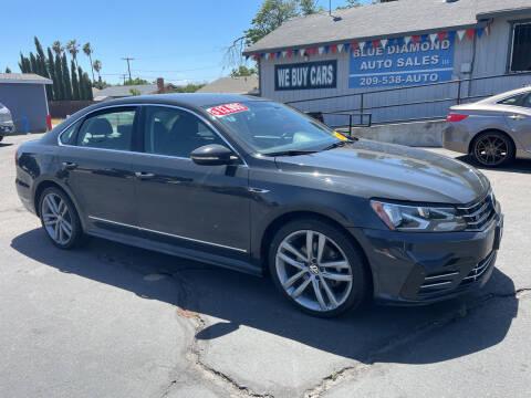 2017 Volkswagen Passat for sale at Blue Diamond Auto Sales in Ceres CA
