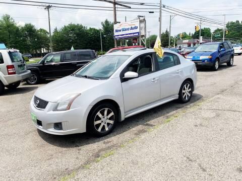 2012 Nissan Sentra for sale at New Wave Auto of Vineland in Vineland NJ