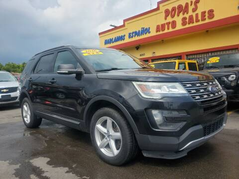 2016 Ford Explorer for sale at Popas Auto Sales in Detroit MI