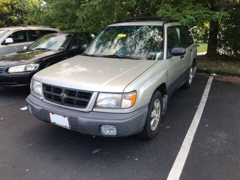 1999 Subaru Forester for sale at Michaels Used Cars Inc. in East Lansdowne PA