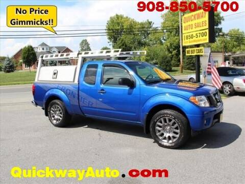 2012 Nissan Frontier for sale at Quickway Auto Sales in Hackettstown NJ
