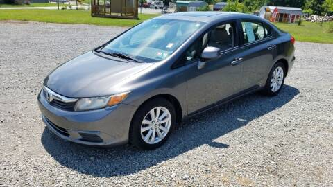 2012 Honda Civic for sale at Oxford Motors Inc in Oxford PA