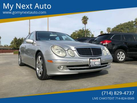 2003 Mercedes-Benz E-Class for sale at My Next Auto in Anaheim CA