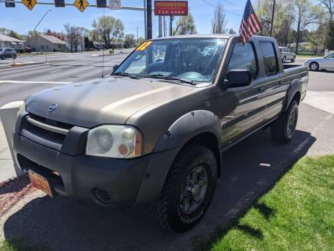 2002 Nissan Frontier for sale at Progressive Auto Sales in Twin Falls ID
