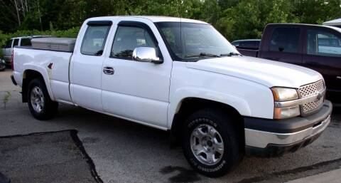 2004 Chevrolet Silverado 1500 for sale at Angelo's Auto Sales in Lowellville OH