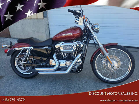 2009 Harley-Davidson XL1200C SPORTSTER CUSTOM for sale at Discount Motor Sales inc. in Ludlow MA