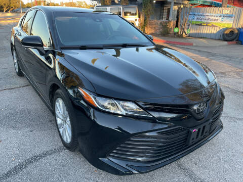 2018 Toyota Camry for sale at PRESTIGE AUTOPLEX LLC in Austin TX