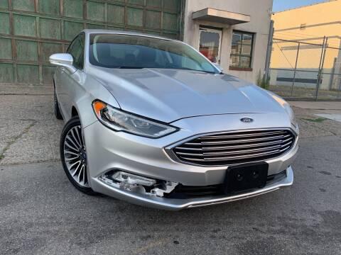 2018 Ford Fusion for sale at Illinois Auto Sales in Paterson NJ