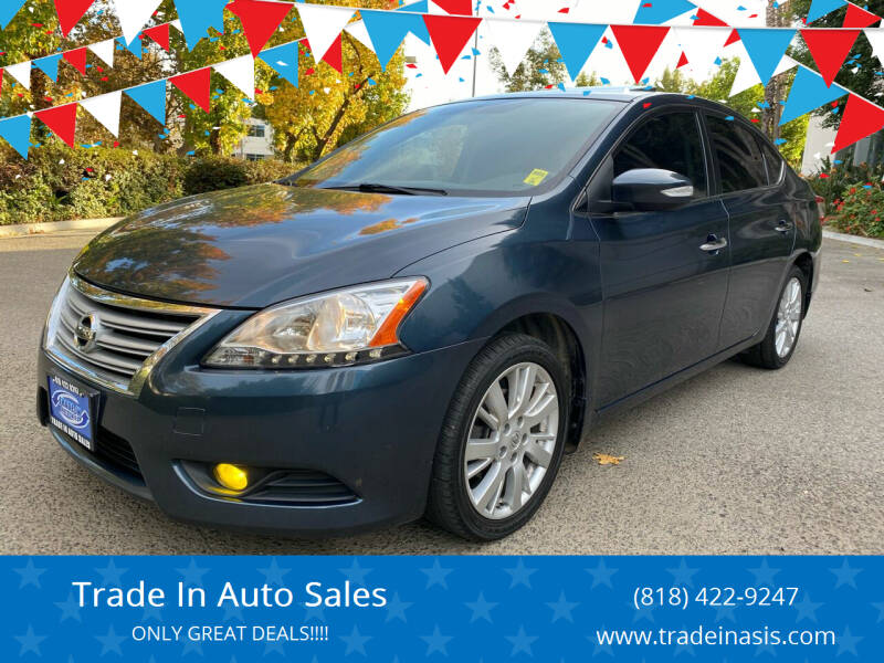2013 Nissan Sentra for sale at Trade In Auto Sales in Van Nuys CA