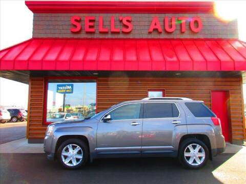 2011 GMC Terrain for sale at Sells Auto INC in Saint Cloud MN