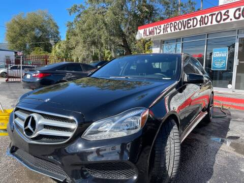 2014 Mercedes-Benz E-Class for sale at Always Approved Autos in Tampa FL