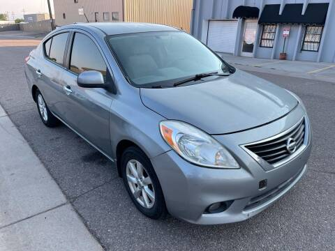 2012 Nissan Versa for sale at STATEWIDE AUTOMOTIVE LLC in Englewood CO