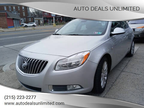 2011 Buick Regal for sale at AUTO DEALS UNLIMITED in Philadelphia PA