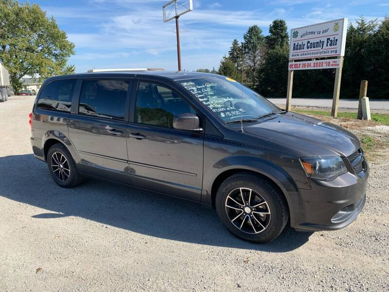 2016 Dodge Grand Caravan for sale at GREENFIELD AUTO SALES in Greenfield IA
