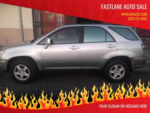 2003 Lexus RX 300 for sale at Fastlane Auto Sale in Los Angeles CA