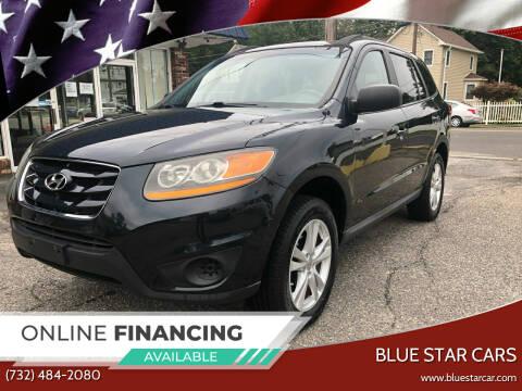 2010 Hyundai Santa Fe for sale at Blue Star Cars in Jamesburg NJ