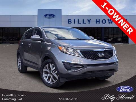 2016 Kia Sportage for sale at BILLY HOWELL FORD LINCOLN in Cumming GA
