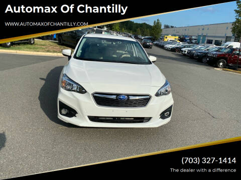 2019 Subaru Impreza for sale at Automax of Chantilly in Chantilly VA
