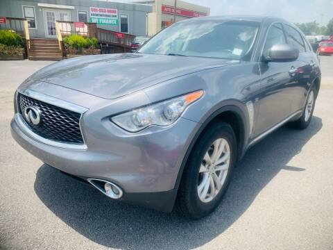 2017 Infiniti QX70 for sale at BRYANT AUTO SALES in Bryant AR