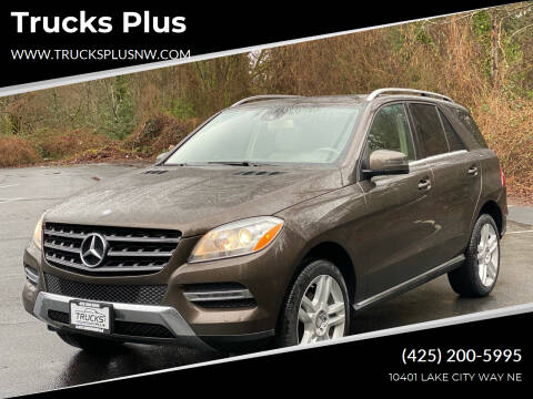 2014 Mercedes-Benz M-Class for sale at Trucks Plus in Seattle WA