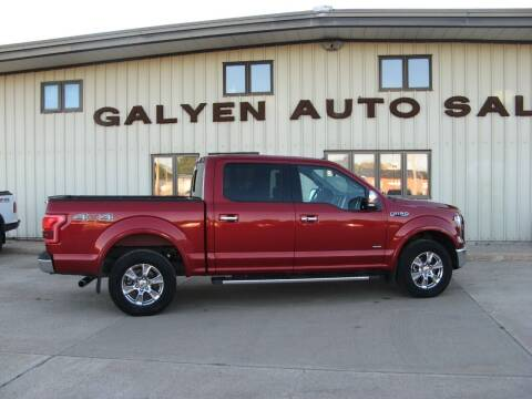 2015 Ford F-150 for sale at Galyen Auto Sales in Atkinson NE