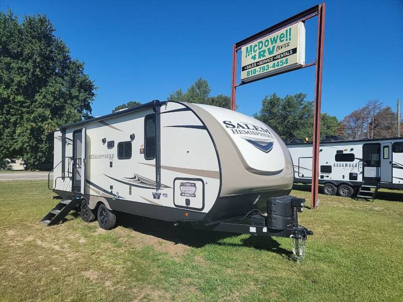 2022 ForestRiverSalemHemisphere  22RBHL for sale at McDowell RV Sales, Inc in North Branch MI