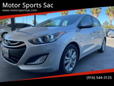 2014 Hyundai Elantra GT for sale at Motor Sports Sac in Sacramento CA