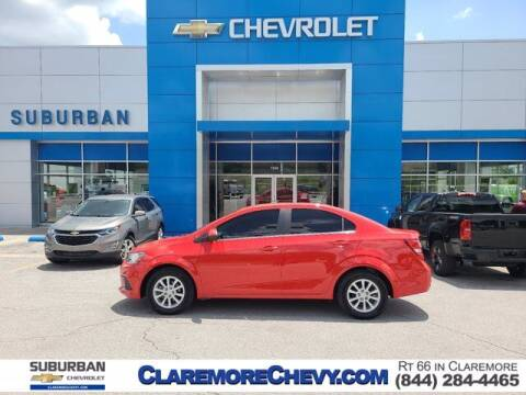 2017 Chevrolet Sonic for sale at Suburban Chevrolet in Claremore OK