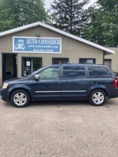 2008 Dodge Grand Caravan for sale at Auto Consider Inc. in Grand Rapids MI
