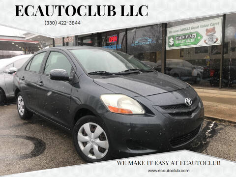 2008 Toyota Yaris for sale at ECAUTOCLUB LLC in Kent OH
