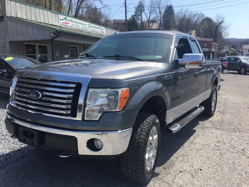 2010 Ford F-150 for sale at THE AUTOMOTIVE CONNECTION in Atkins VA