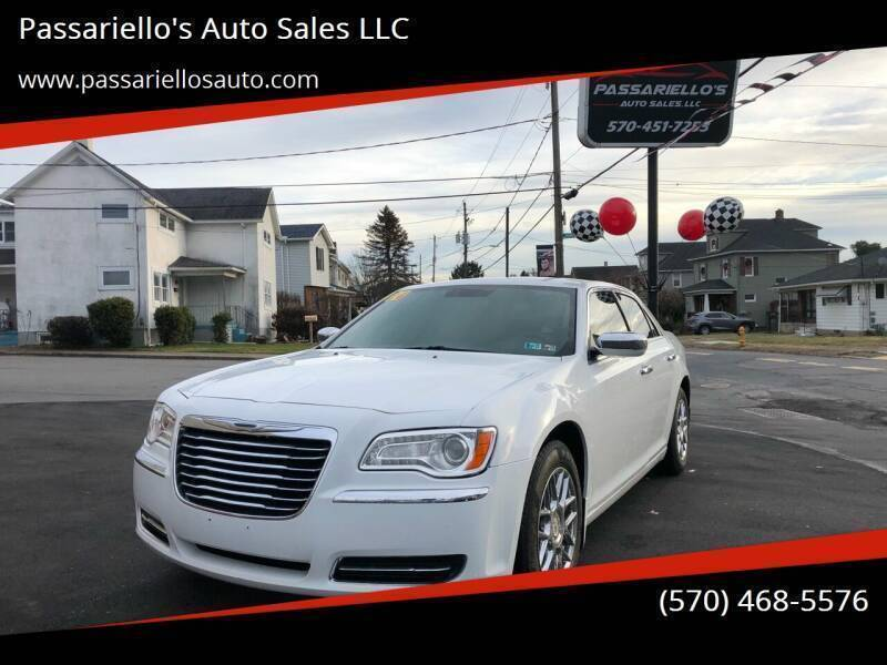 2014 Chrysler 300 for sale at Passariello's Auto Sales LLC in Old Forge PA