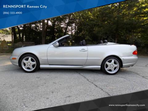 2000 Mercedes-Benz CLK for sale at RENNSPORT Kansas City in Kansas City MO